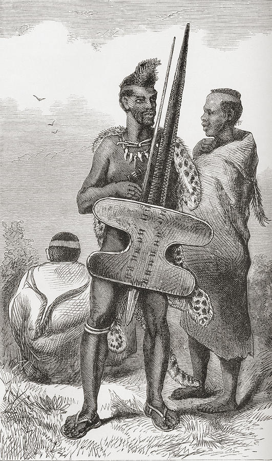 a-bechuana-warrior-in-the-19th-century-ken-welsh